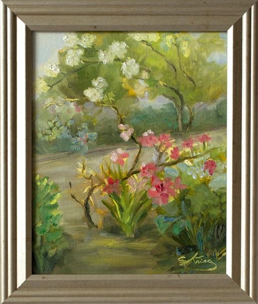 Spring in Bloom framed web